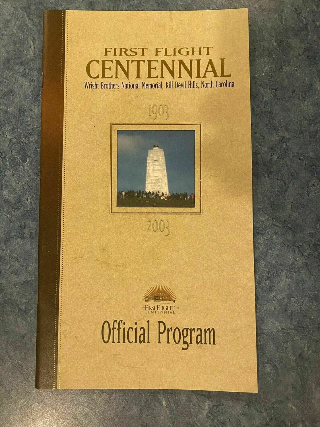 First Flight Centennial Official Program