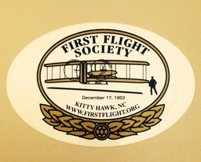 First Flight Society Sticker