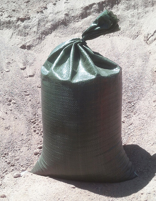 """500-count standard empty poly sandbags, 14""""x26"""" 