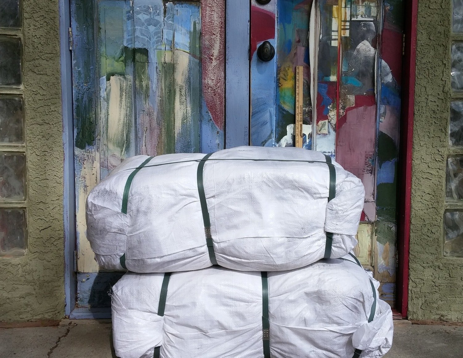 """1,000 STANDARD poly bags, 14""""x26"""", 4 colors 
