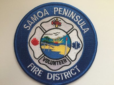 Samoa Peninsula Fire District Patch