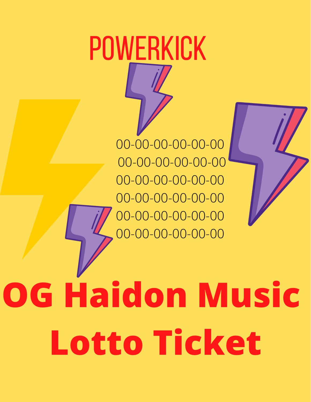 PowerKick Ticket