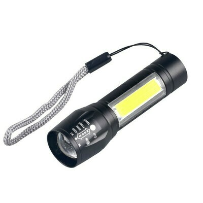 Mini Rechargeable LED Flashlight with USB