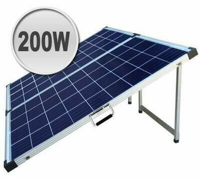 200W Foldable solar panel kit for camping