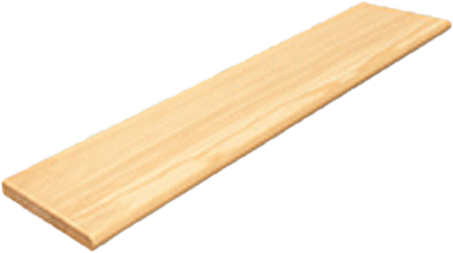 Standard Stair Treads - Yellow Pine - In a Variety of Sizes