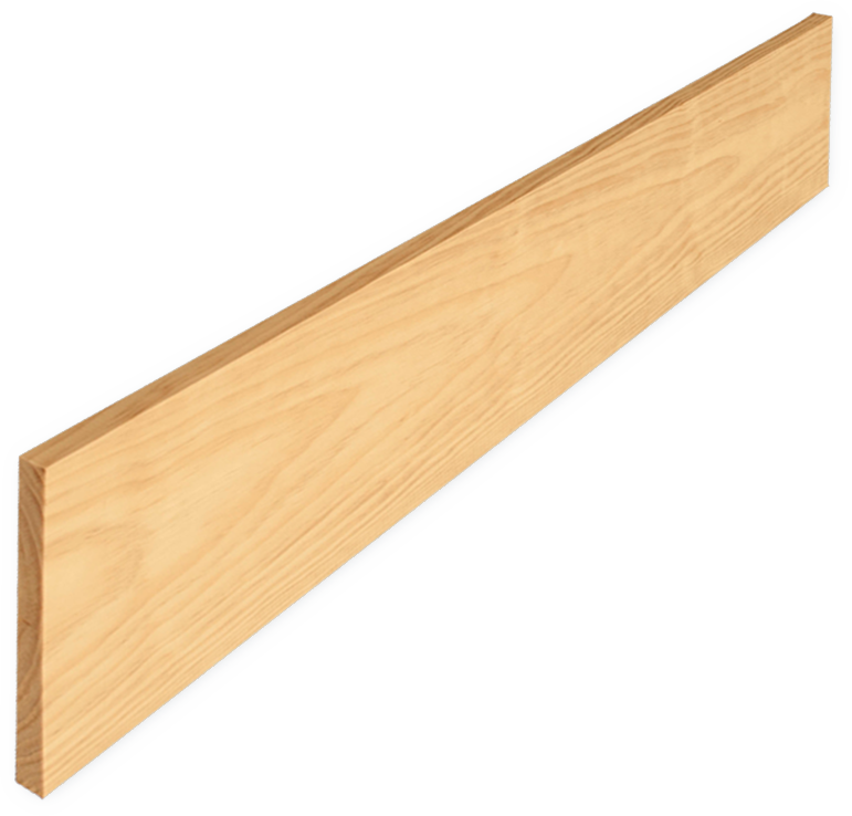 """3/4"""" Risers in Yellow Pine - In a Variety of Lengths"""