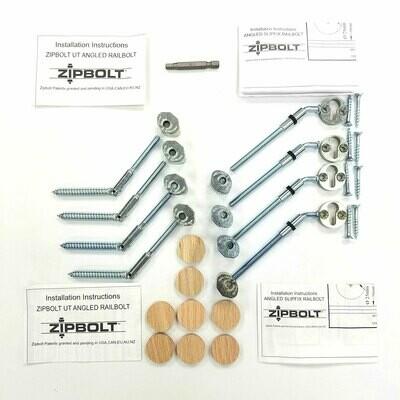 Zipbolt Rake Rail Hardware Bulk Pack