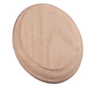 7037 White Oak Oval Wall Rosette