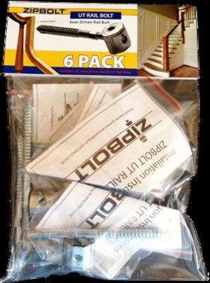 Zipbolt UT Rail Bolt (13.600) Multipack