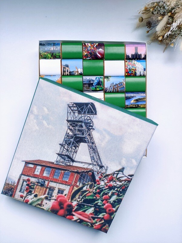 Coffret chocolat original, cadeau souvenir, welcome pack