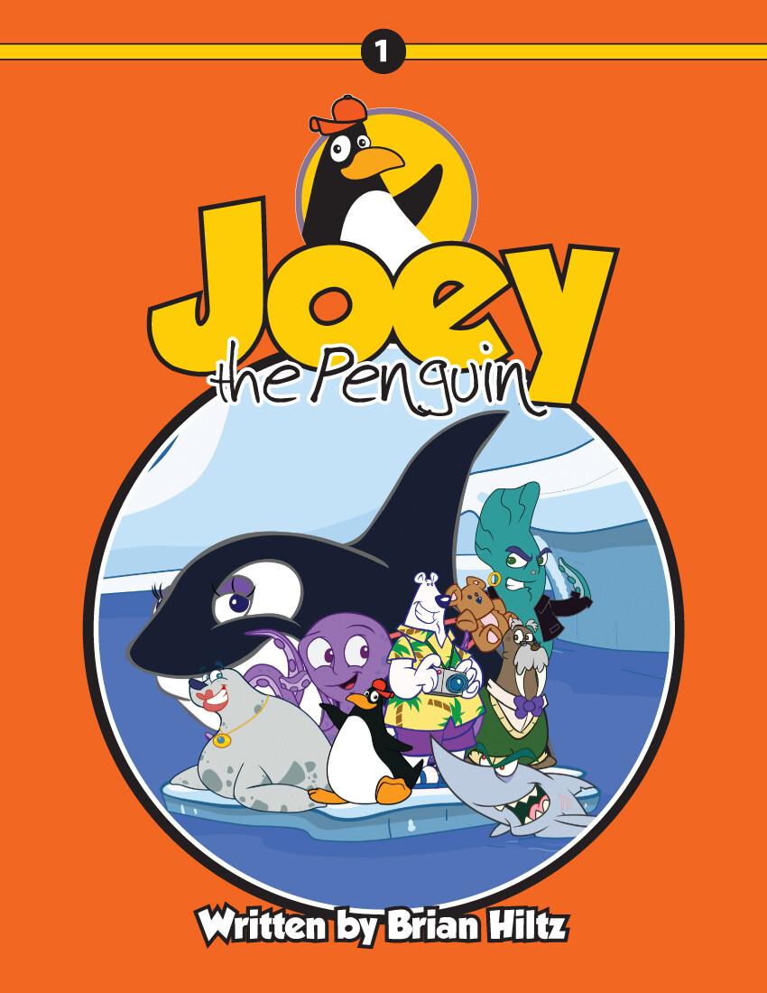 Joey the Penguin Book