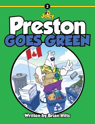 Preston Goes Green Book