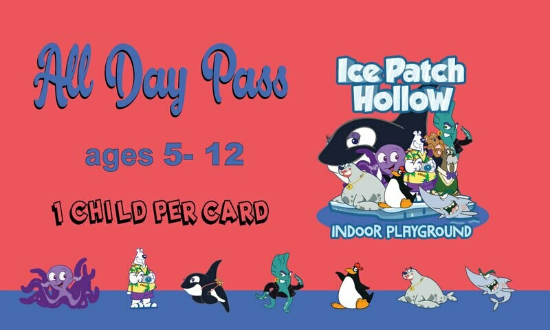 Day Pass (ages 5-12)