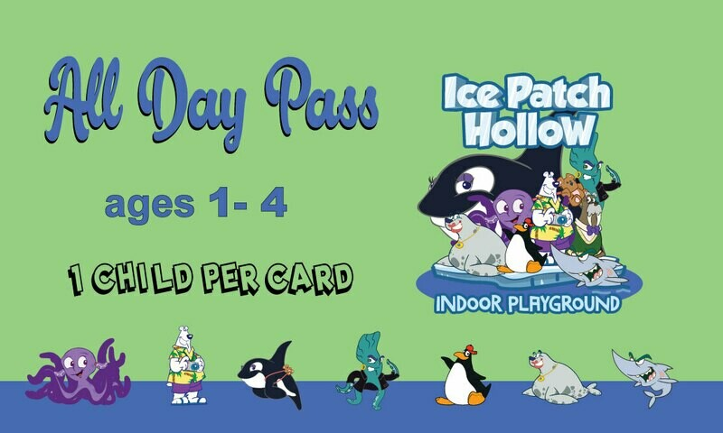 Day Pass (ages 1-4)