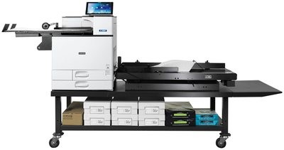 Xante En-Press Digital Multi-Media Press with the Enterprise high speed  feed system