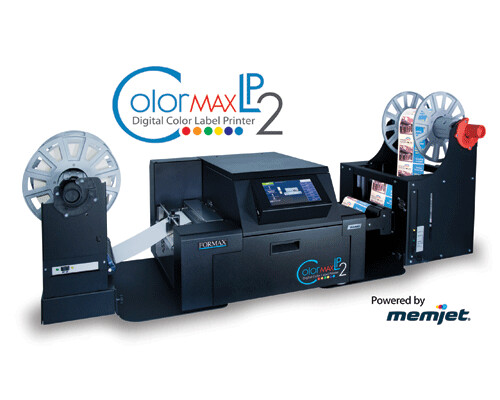 Formax ColorMax LP2 Digital Color Label Printer