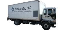 AMS Entry Level Paper Shredding Truck