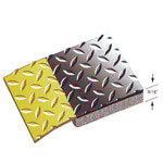 Rhino Diamond Plate Contract Duty Anti-Fatigue Mats