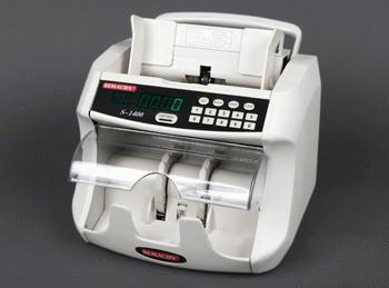 Semacon S-1400, S-1415, S-1425, S-1450 Currency Counter