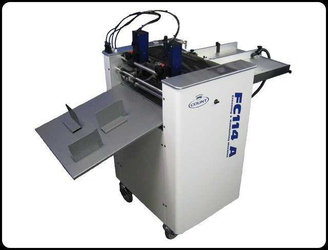 Count FC114A Digital Creasing and Numbering Machine