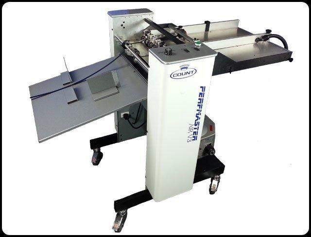 Count Perfmaster Air V3 Perforating and Scoring Machine