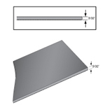 Rhino Conductive Smooth Top Work Surface and Runner