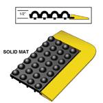 Rhino ULTRA-DOME® Workstation Rubber Drain Thru Mat