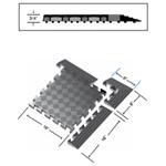 Rhino Comfort Quad™ Solid Mats