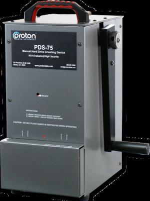 Proton PDS–75 Hard Drive Crusher
