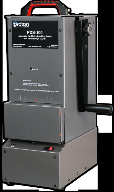 Proton PDS-100 Hard Drive Crusher