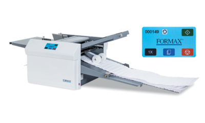 Formax FD 346 folder with Touchscreen Technology