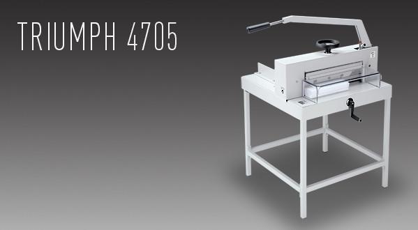 MBM Triumph 4705 Manual Tabletop Cutter