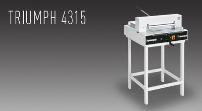 MBM Triumph 4315 Semi-Automatic Tabletop Cutter