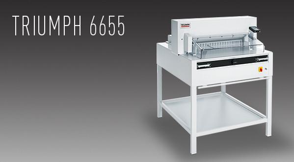 MBM Triumph 6655 Automatic Programmable Cutter