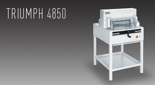 MBM Triumph 4850 Automatic Cutter