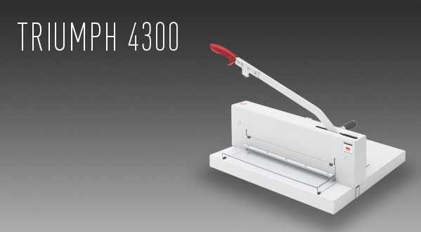 MBM Triumph 4300 Manual Tabletop Cutter