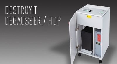 Destroyit Degausser / Hard Drive Punch