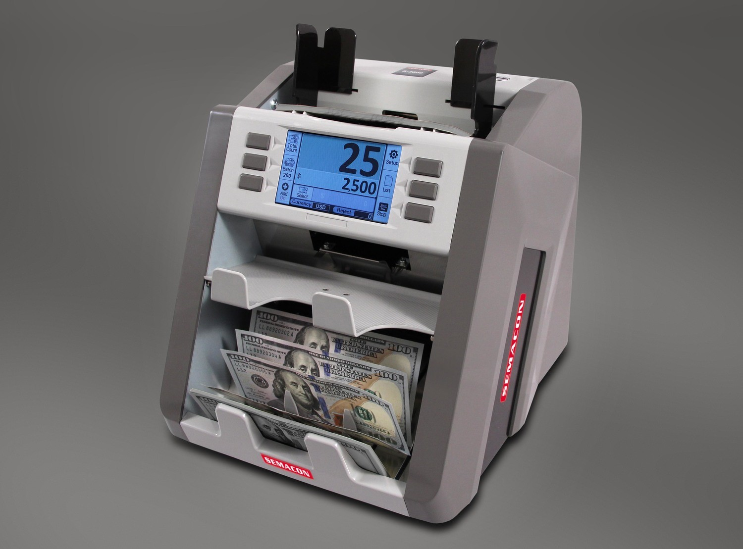 Semacon S-2500 Currency Discriminator