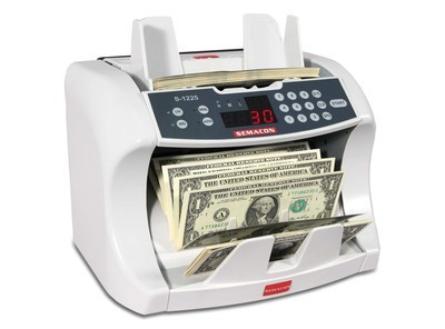 Semacon S-1200, S-1215, S-1225 Currency Counter