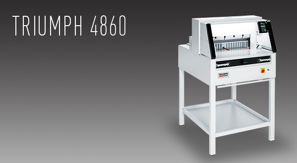 MBM Triumph 4860 Automatic Programmable Cutter