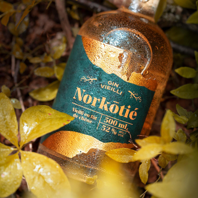 Gin Norkōtié vieilli