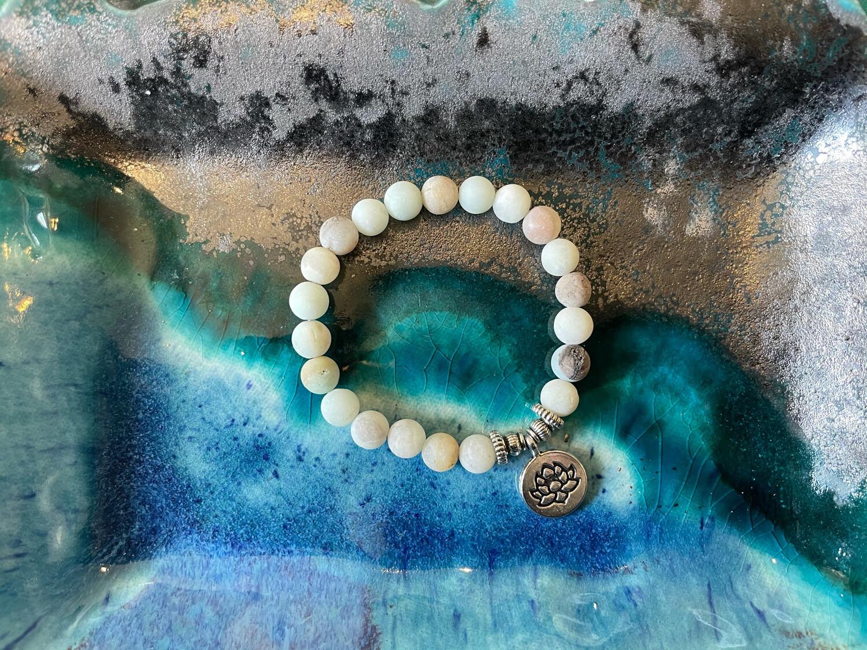 Lotus Bracelet-10mm Beads