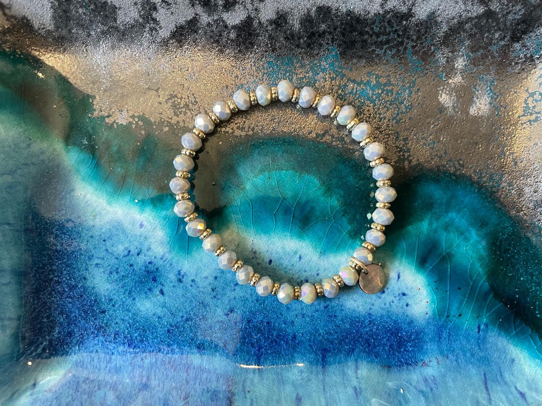 Shiny Beaded Bracelet-8mm