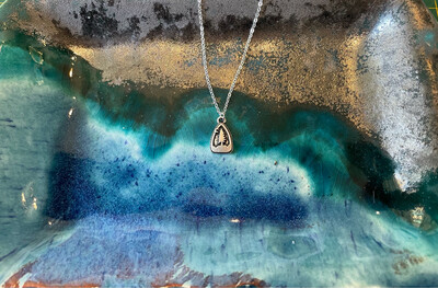Tree in a Triangle Necklace