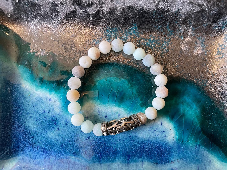 Bar Bracelet-10mm Beads