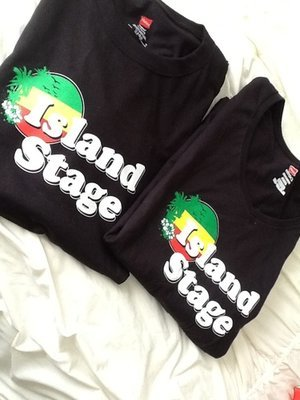 New Island Stage T-Shirt- Ladies