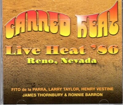*NEW RELEASE* Live Heat '86 CD