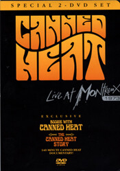 Boogie with Canned Heat &  Live at Montreux (2 DVD Set)