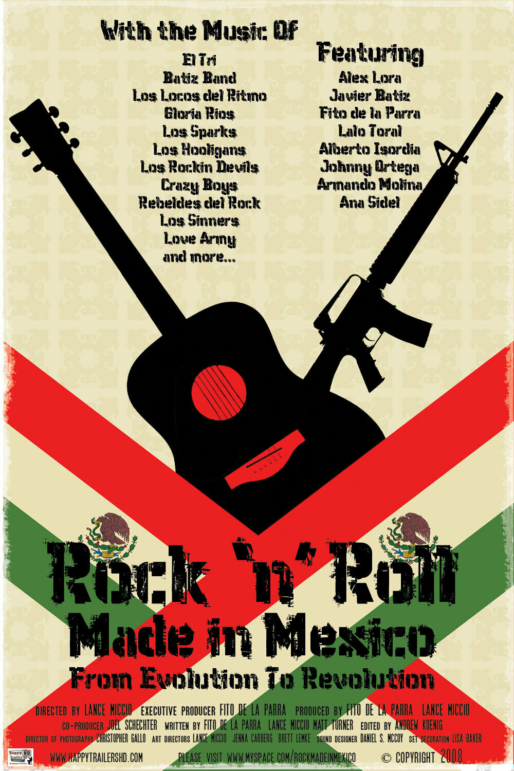 Rock 'n' Roll Made in Mexico -  DVD (English Version Only)