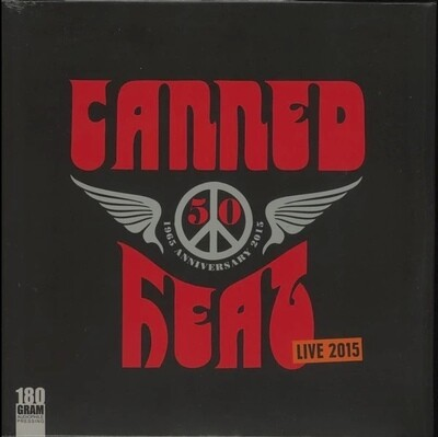 Canned Heat 50th Anniversary Live 2015 - SIGNED